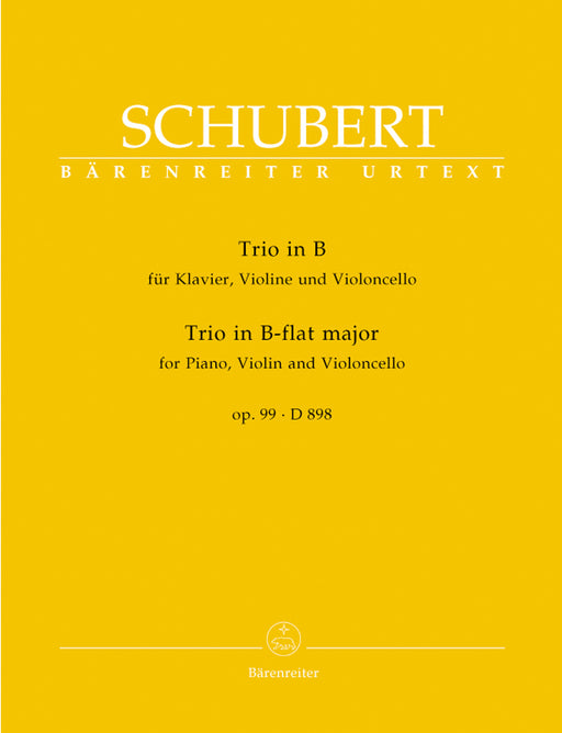 Schubert Piano Trio in B flat major Opus 99 D 898