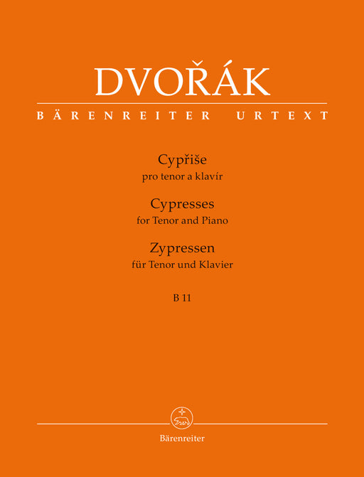 Dvorak Cyprise (Cypresses) for Tenor and Piano B 11