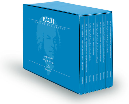 Bach The Complete Organ Works (11 volumes)
