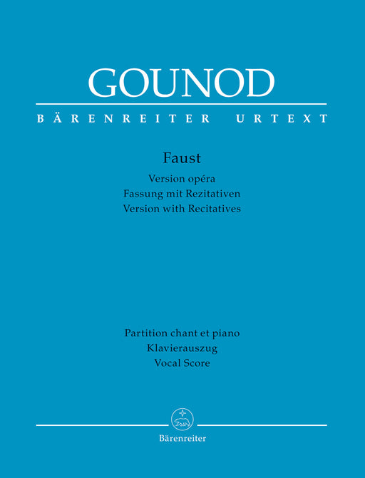 Gounod Faust  - Vocal Score (Version with Recitatives)