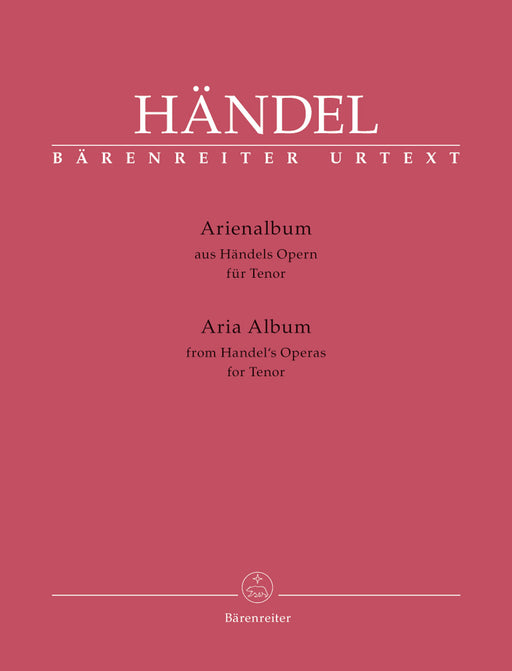 Handel Aria Album for Tenor (from Handel's Operas)