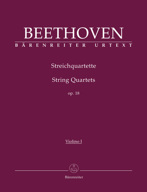 Beethoven String Quartets Opus 18