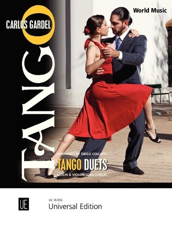 Gardel Tango Duets for violin and cello or viola