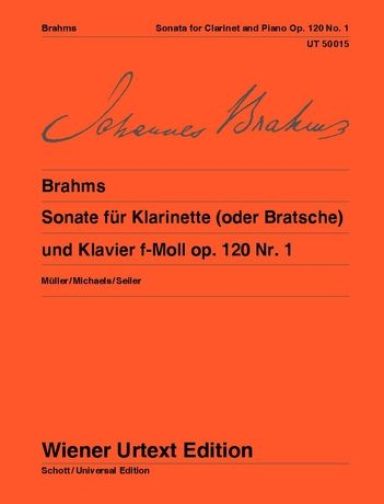 Brahms: Sonata for clarinet or viola and piano - op. 120/1