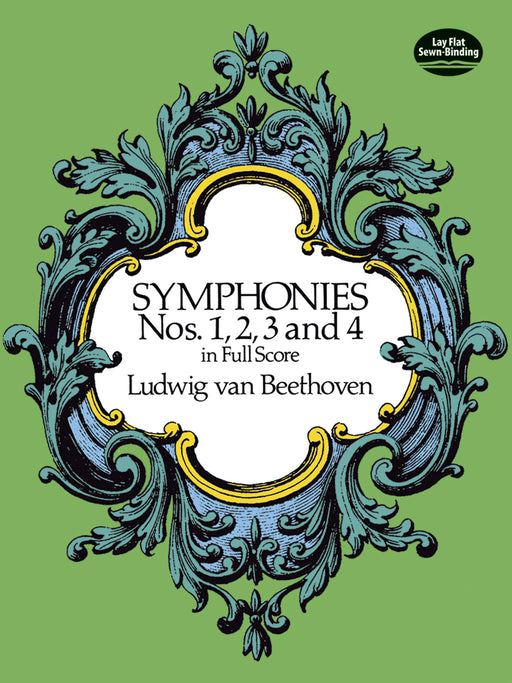 Beethoven Symphonies Nos. 1, 2, 3 and 4 in Full Score