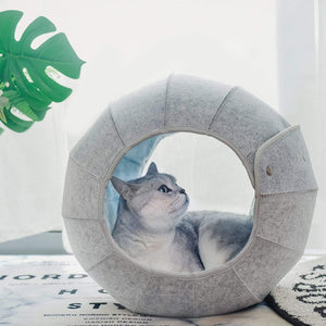 Calming Cat Igloo Beds/Caves/Toys Trendy & Cute in Dragon Ball Shape 2 - Sloppylab