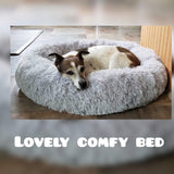 KEEP STAYING REAL Store Bed & Mattress Anti-Anxiety/Calming Fluffy Dog Bed/Cat Bed in Donut Shape To Calm Your Dog Anxiety 6