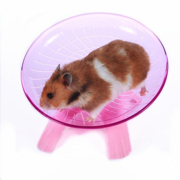 Sloppylab Accesories Flying Saucer/Exercise Wheel/Running Disc Toy for Hamster/Guinea Pig