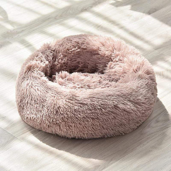 Anti-Anxiety/Calming Fluffy Dog Bed/Cat Bed in Donut Shape To Calm Your Dog Anxiety 3 - Sloppylab