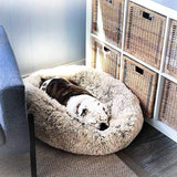 Fluffy Dog Bed/Cat Bed To Calm Anxiety - Sloppylab