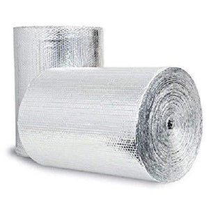 "Reflective Thermal Double Bubble Foil Insulation- 48"" X 10' - DIY Project"