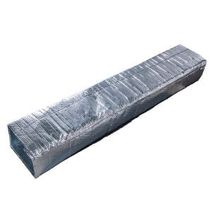 "First Large Duct 'big 8 R-value' Reflective Foil Insulation Kit 48"" X 10'"