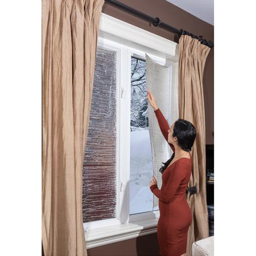 "Window Thermal Insulation Panels: 48"" X 48"" (Double Thickness) 2 Panels/Kit"