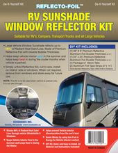 Load image into Gallery viewer, RV Sunshade Window Reflector Kit