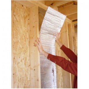 "Reflective Thermal Double Bubble Foil 'Staple Tab' Insulation 16"" X 25' DIY Project"