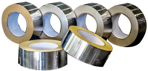 "Aluminum FOIL Tape, 48mm x 45m (1.9"" x 148') with Liner Peel Backing (6/ Pack)"