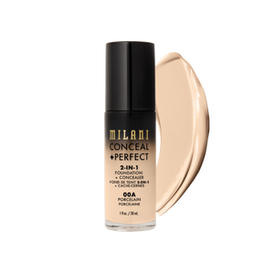Milani | Conceal + Perfect 2 in 1 Foundation and Concealer - Sculpt Cosmetics