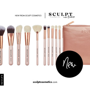Sculpt Icon // 15 Piece Rose Gold Brush Set - Sculpt Cosmetics