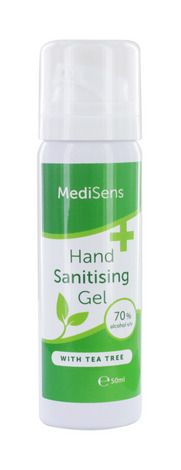 Medisens Hand Sanitising Gel 70% Alcohol 50ml
