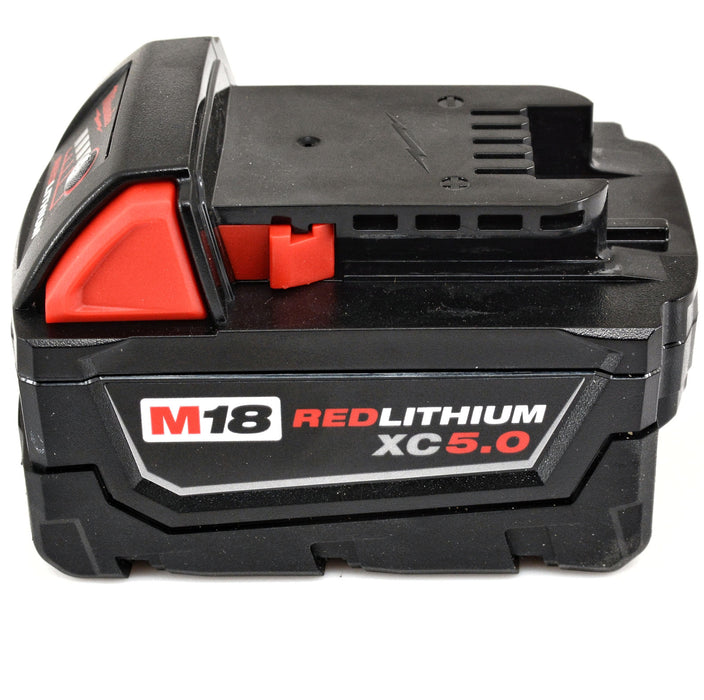 "Milwaukee 2713-20 M18 FUEL 1"" SDS Plus D-Handle 5.0 Ah Rotary Hammer Drill Kit"