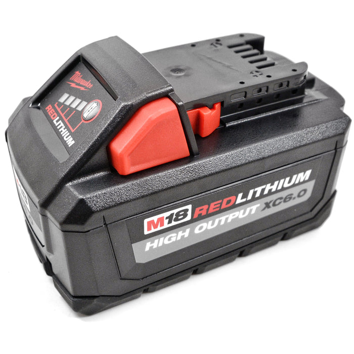 "New Milwaukee 2755-20 M18 FUEL 1/2"" Li-Ion Compact Impact Wrench 6.0 Ah Battery"
