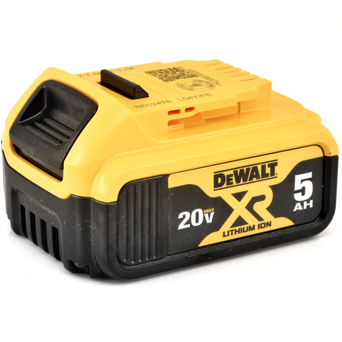 DeWALT DCB205-2 20V Max Premium 5.0 Ah XR Li-Ion Battery Packs