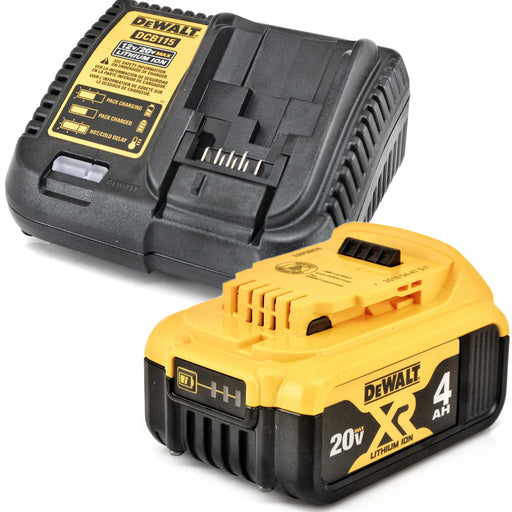 DeWALT 20V MAX Lithium Ion 4.0 Ah Battery and Charger