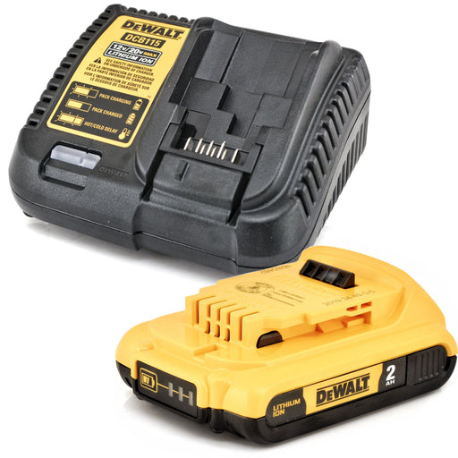 DeWALT 20V MAX 2.0 Ah XR lithium Ion Battery and Charger