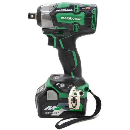 "Metabo HPT WR18DBDL2 18V Lithium Ion Brushless 1/2"" Impact Wrench 5.0 Ah Battery"