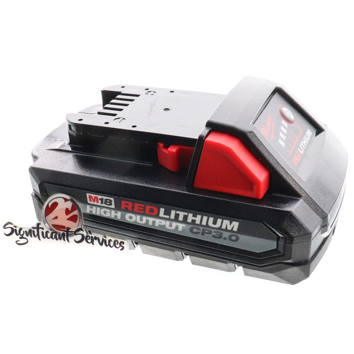 New Milwaukee 48-11-1835 M18 Red Lithium High Output 18V 3.0 Ah Battery