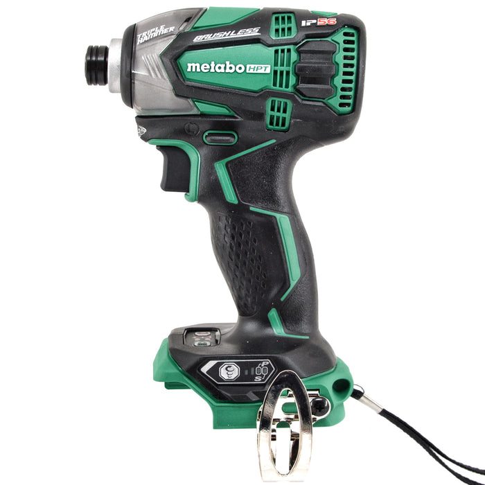 "Metabo WH18DBDL2 18V Brushless Triple Hammer 1/4"" Impact Driver 3.0 Battery Kit"