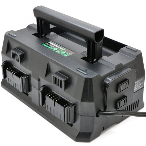 Metabo UC18YTSL 4-Port 36V/18V Lithium Ion Battery Charger