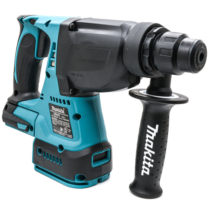 "Makita XRH01Z 1"" 18 volt LXT SDS plus Brushless concrete Rotary Hammer Drill"