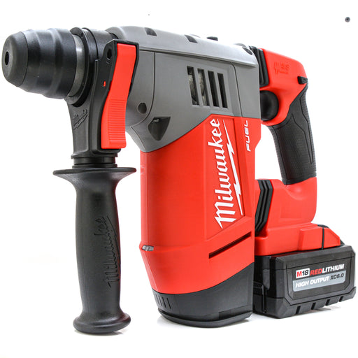 "Milwaukee 2715-20 M18 FUEL 1-1/8"" SDS Rotary Hammer 6.0 Ah High Output Battery"