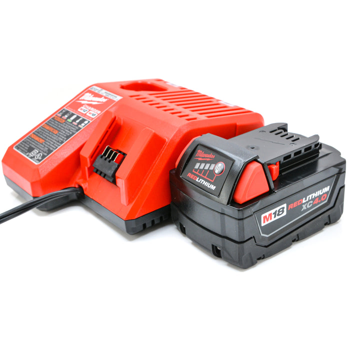 New Milwaukee 48-11-1840 M18 M12 REDLITHIUM Li-Ion XC 4.0 Battery Pack Charger