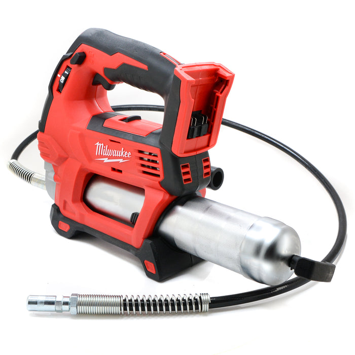 Milwaukee 2646-20 M18 18V 18 Volt Cordless 2 Speed Grease Gun Tool 3.0 Ah