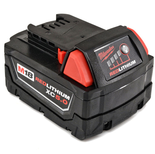 Milwaukee 48-11-1850 18V M18 XC 5.0 AH REDLITHIUM Battery Pack