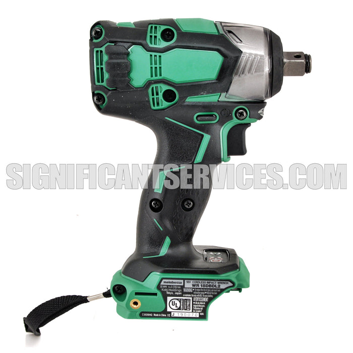 Metabo HTP Hitachi  WR18DBDL2P4 18V Li-Ion Brushless Cordless 1/2'' Impact Wrench