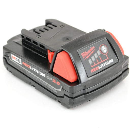 Milwaukee 48-11-1820 M18 REDLITHIUM CP 2.0 Ah Compact Li-Ion Battery