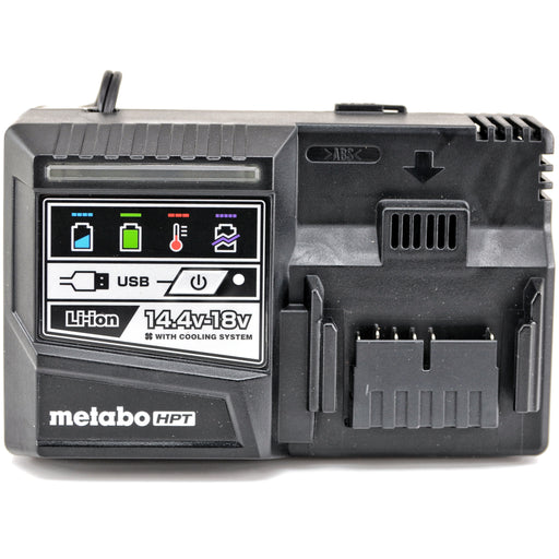 Hitachi Metabo UC18YSL3 18V Li-Ion Rapid Battery Charger USB Port Replaces UC18YKSL