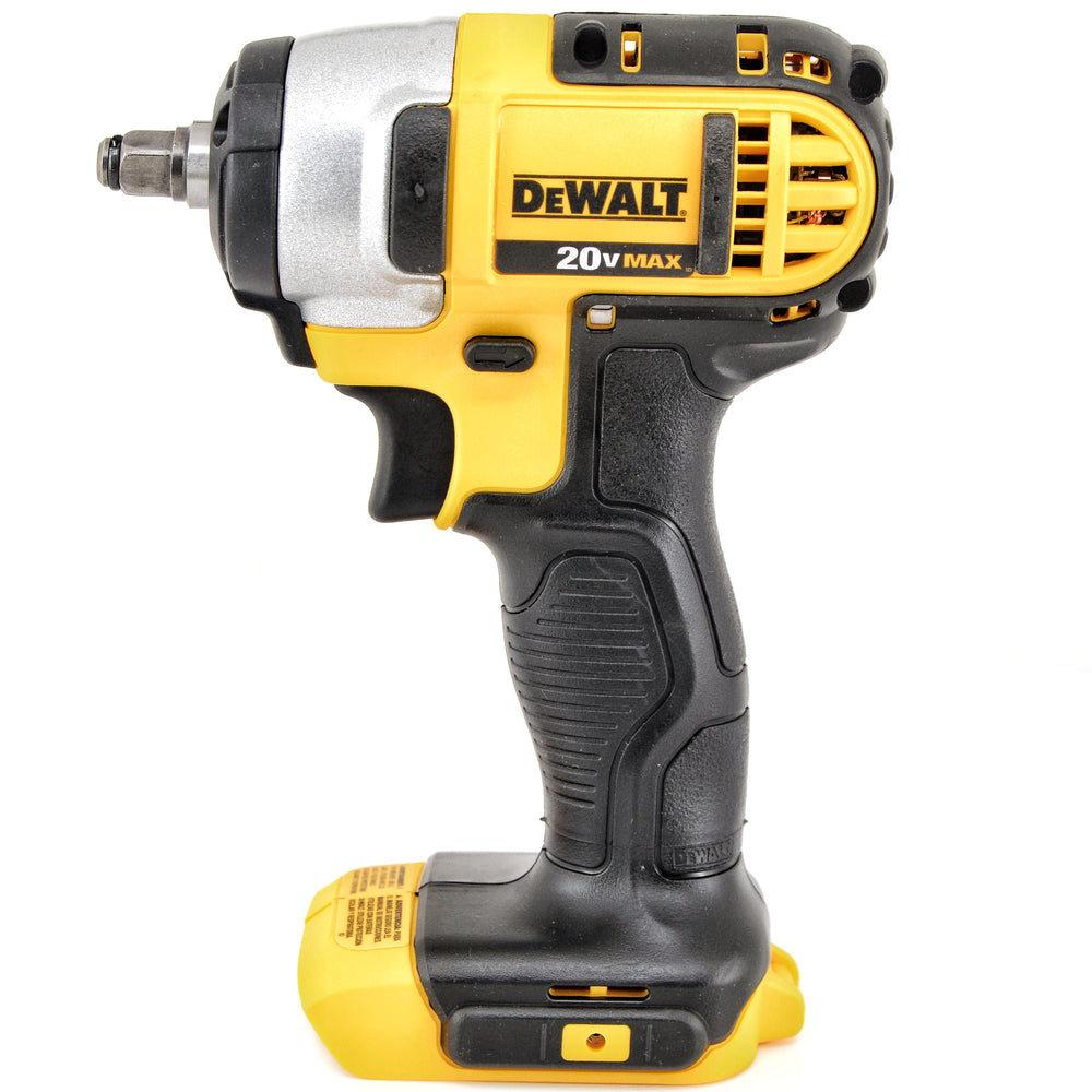 "DEWALT DCF883B 20V 20 Volt Max Lithium Ion 3/8"" Impact Wrench w Hog Ring"