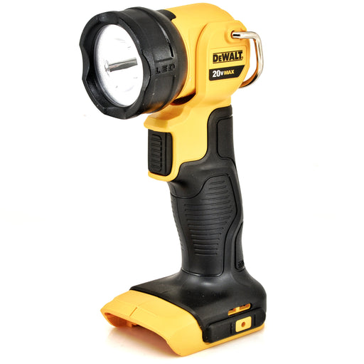 DeWALT DCL040 20V MAX Li-ion LED Pivoting Work Light Jobsite Flashlight