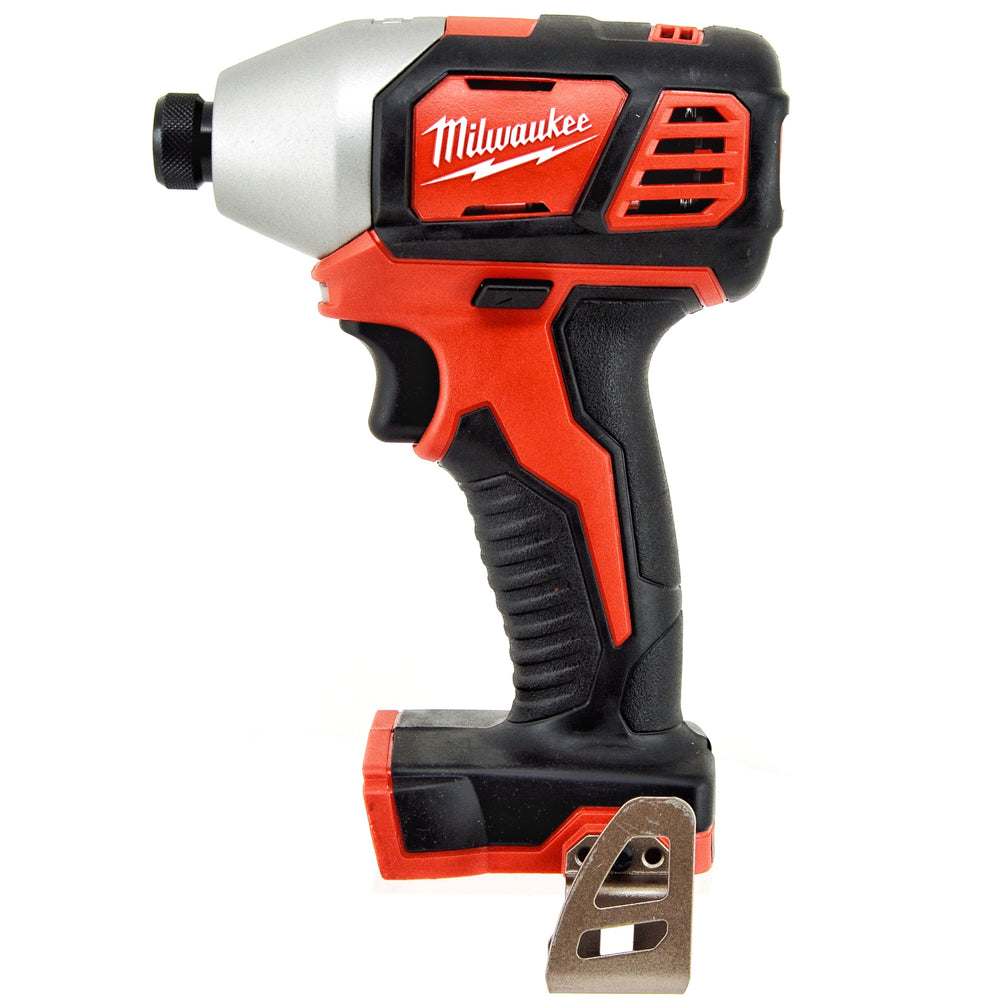 "Milwaukee 2656-20 M18 18V 1/4"" Li-Ion Cordless Hex Impact Driver"