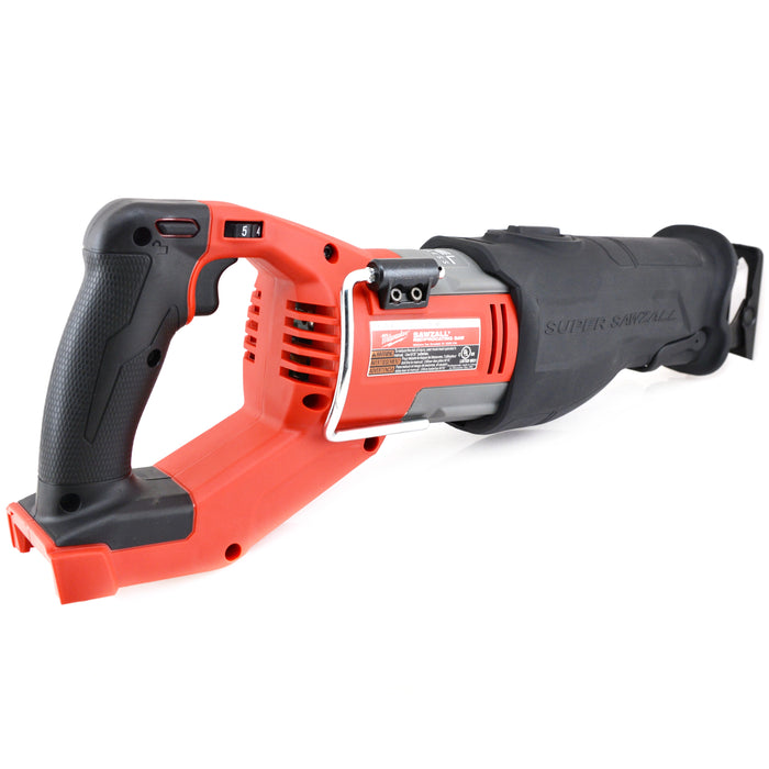 Milwaukee 2722-20 M18 FUEL Li-Ion Super Sawzall Reciprocating Saw (Tool Only)