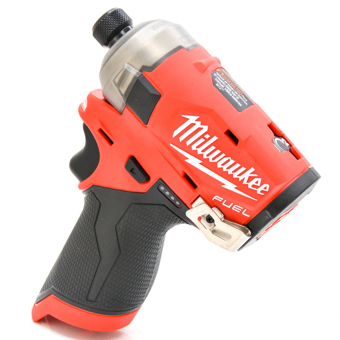 "Milwaukee 2551-20 M12 FUEL SURGE Li-Ion 1/4"" Hex Hydraulic Impact Driver"