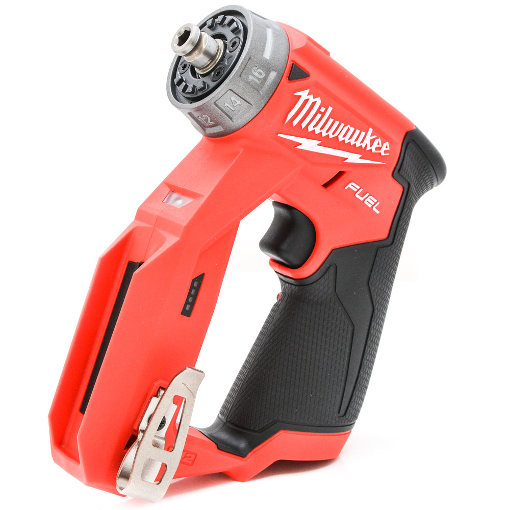 Milwaukee 2505-20 12V M12 FUEL Brushless Cordless Li-Ion Installation 4-in-1 Drill Driver