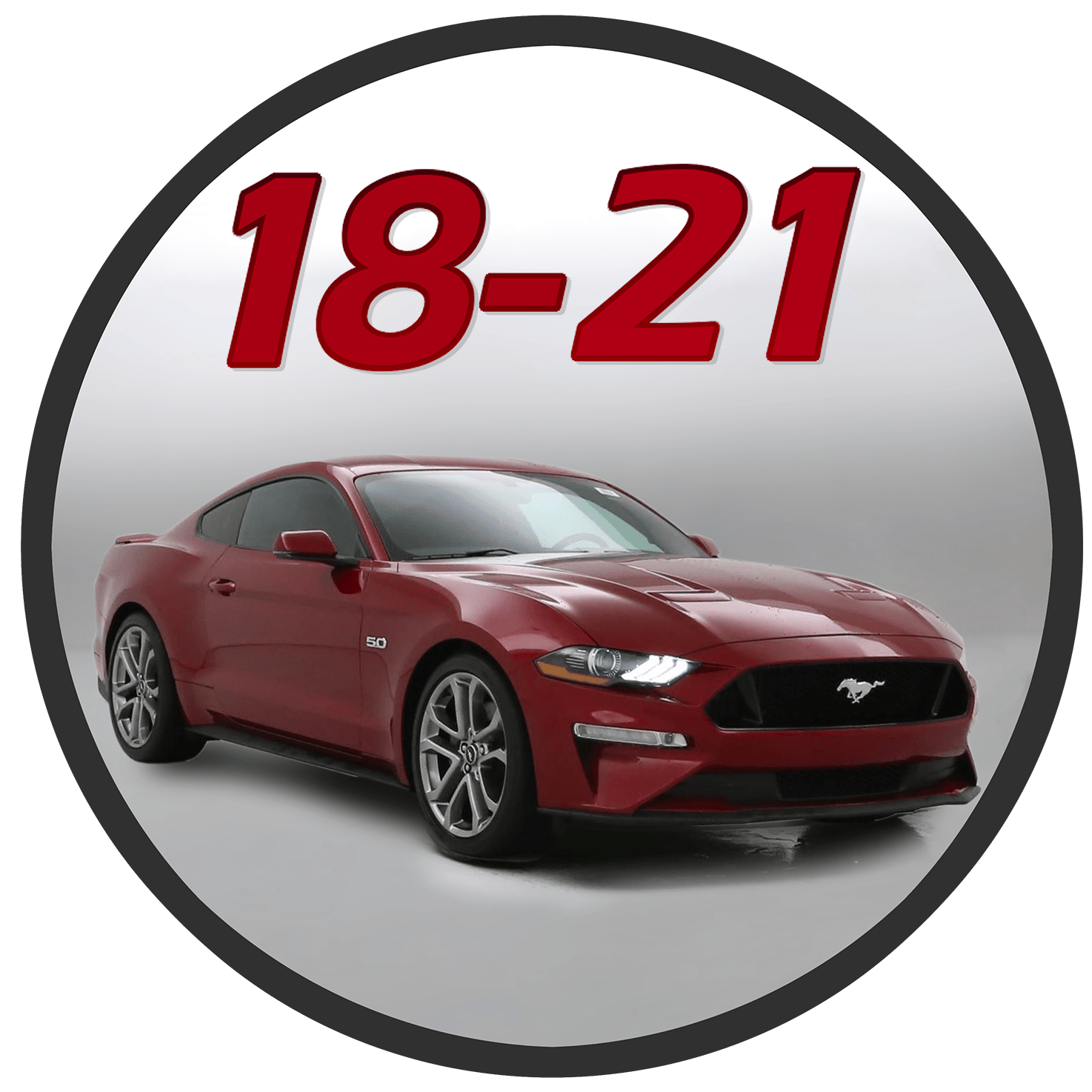 2018 2019 2020 Ford Mustang Stripes Decal and Vinyl Graphics