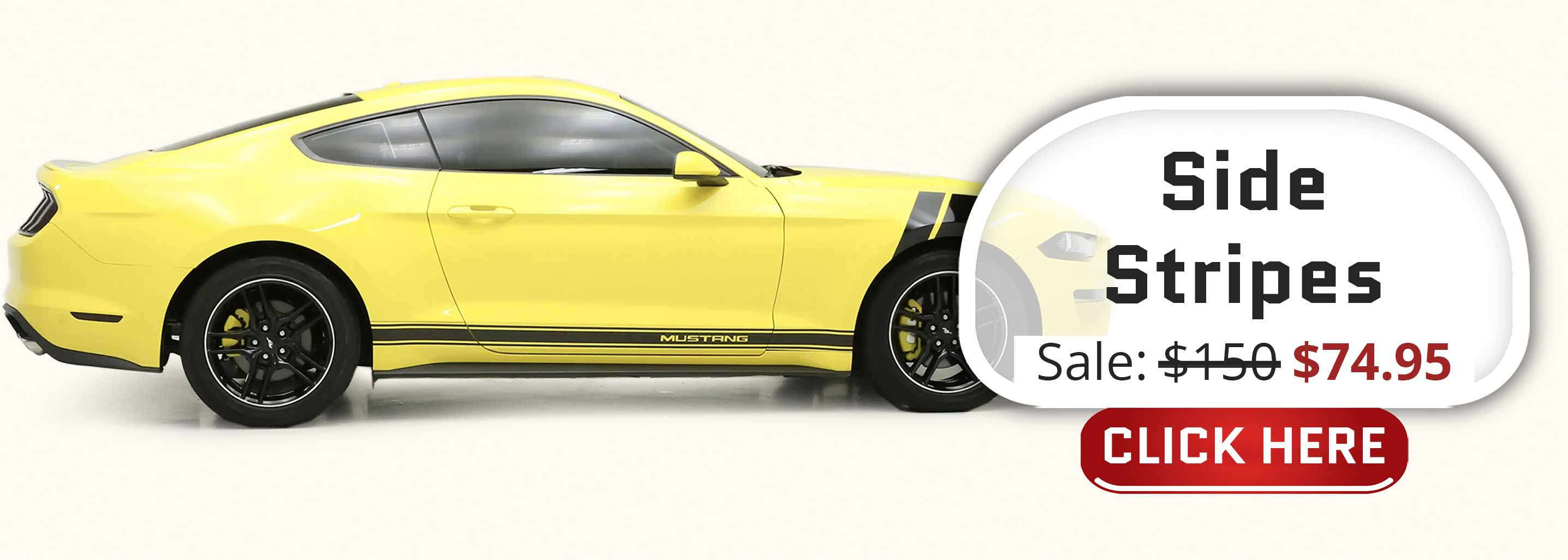 black Side stripes lower rocker panel decal with text pre-cut vinyl for sale