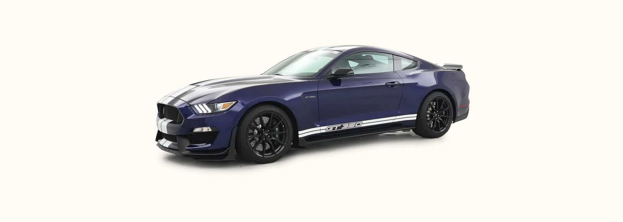 Shelby GT350 Side Stripes with GT350 Text (2015-2020) - Stripe Source