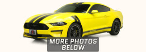 Ford Mustang Fender Stripes (Hash Mark Decal, 2015-2021) - Stripe Source